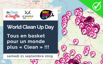 Septembre 2019 // World Clean Up Day